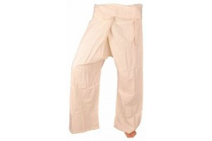 White fisherman pants back in stock