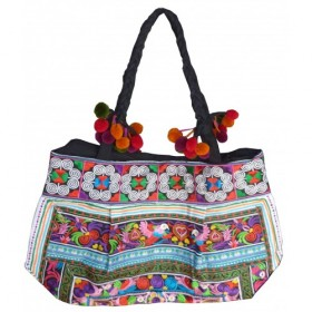 Candy Hmong Shoulder Bag