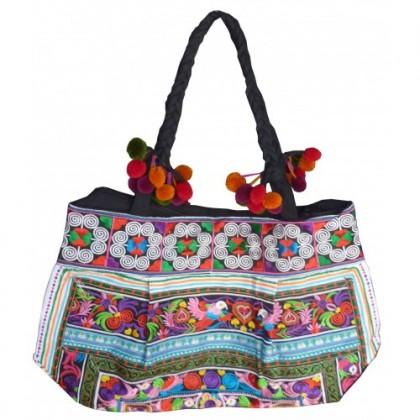 Candy Hmong Shoulder Bag