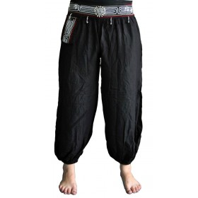 Black Harem Pants