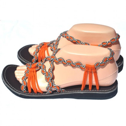 Women's Sandals - Sunset Orange