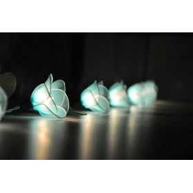 Blue Flower String lights