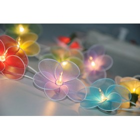 Flower String lights - Mixed Colours