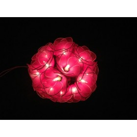 Pink Flower String lights