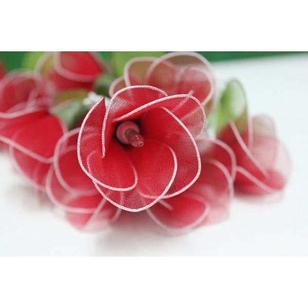 Red Flower String lights