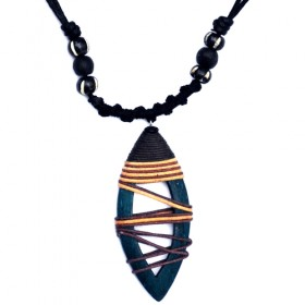 Eclipse Teal Necklace