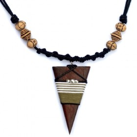 Tribal Pyramid Necklace