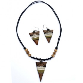 Tribal Pyramid Jewellery Set