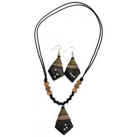 Solid Diamond Jewellery Set