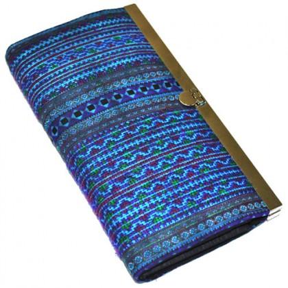 Hmong Hill Tribe Purse - Blue