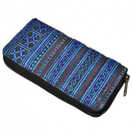 Thai Clutch Purse - Blue