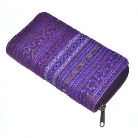 Thai Clutch Purse - Violet