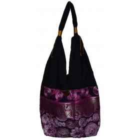 Purple Tote Bag - Elephant Band
