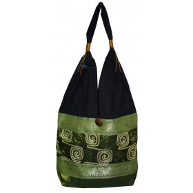 Light Green Tote Bag - Elephant Bands